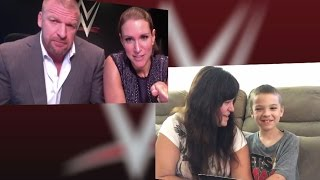 Triple H and Stephanie McMahon deliver a special message to young WWE fan Elijah
