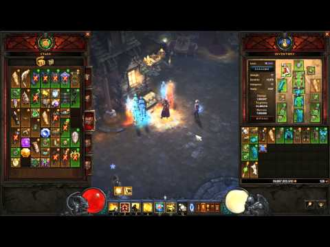 PC Diablo 3 Monk Generator build guide & gameplay