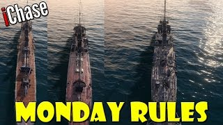 World of Warships - Monday Rules #16 - Tier 4 Destroyer Damage Challenge