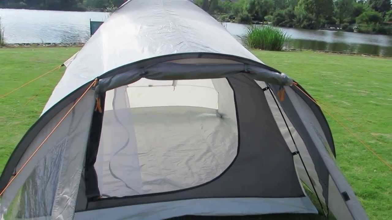 Waterproof Double Layers 3 Person Dome C&ing Tent with Front Porch - YouTube & Waterproof Double Layers 3 Person Dome Camping Tent with Front ...