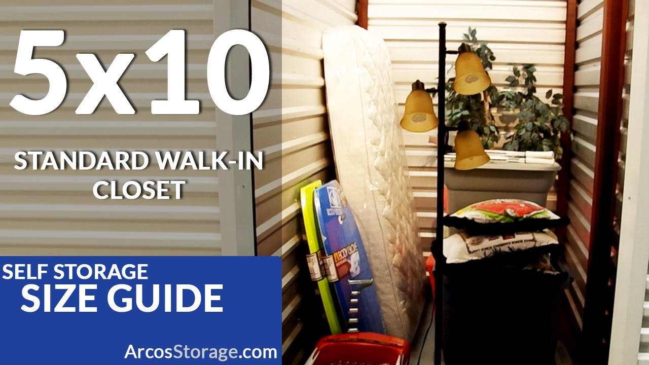 & 5x10 Size Guide: Self Storage - YouTube