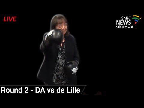 DA vs Patricia de Lille, 05 June 2018