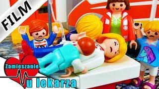 Zamieszanie u lekarza - film | EPIDEMIA w PLAYMOBIL CITY. Wróblewscy w szpitalu | Serial
