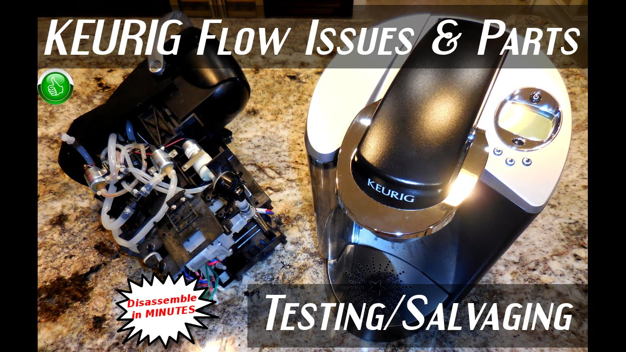 KEURIG Disassembly & Parts Testing(RESTRICTED Flow Issue) Doovi