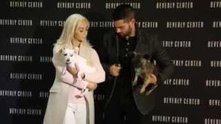 "Jesse Metcalfe & Cara Santana Kick-Off Beverly Center's 3rd Annual ""Holiday Pet Portraits"" photo op"