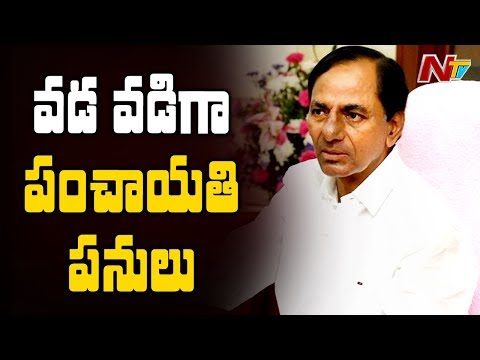 Telangana Panchayat Elections To Be Held In 3 Phases | NTV