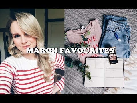 MARCH FAVOURITES | ANDREACLARE