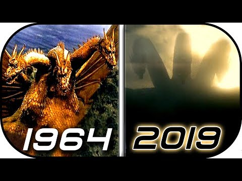 EVOLUTION of KING GHIDORAH & Mecha Ghidorah in Movies & TV 1964-2019 Godzilla King of the Monsters