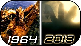 EVOLUTION of KING GHIDORAH & Mecha Ghidorah in Movies & TV (1964-2019) Godzilla King of the Monsters
