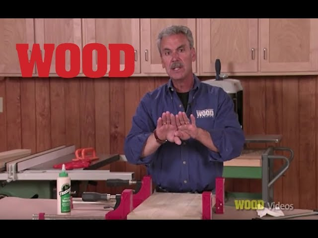How To Clamp Boards For Glue Up Wood Magazine Youtube