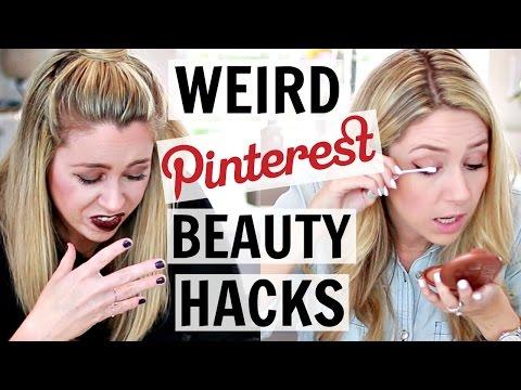 Testing Pinterest Beauty Hacks   Hack or Wack?