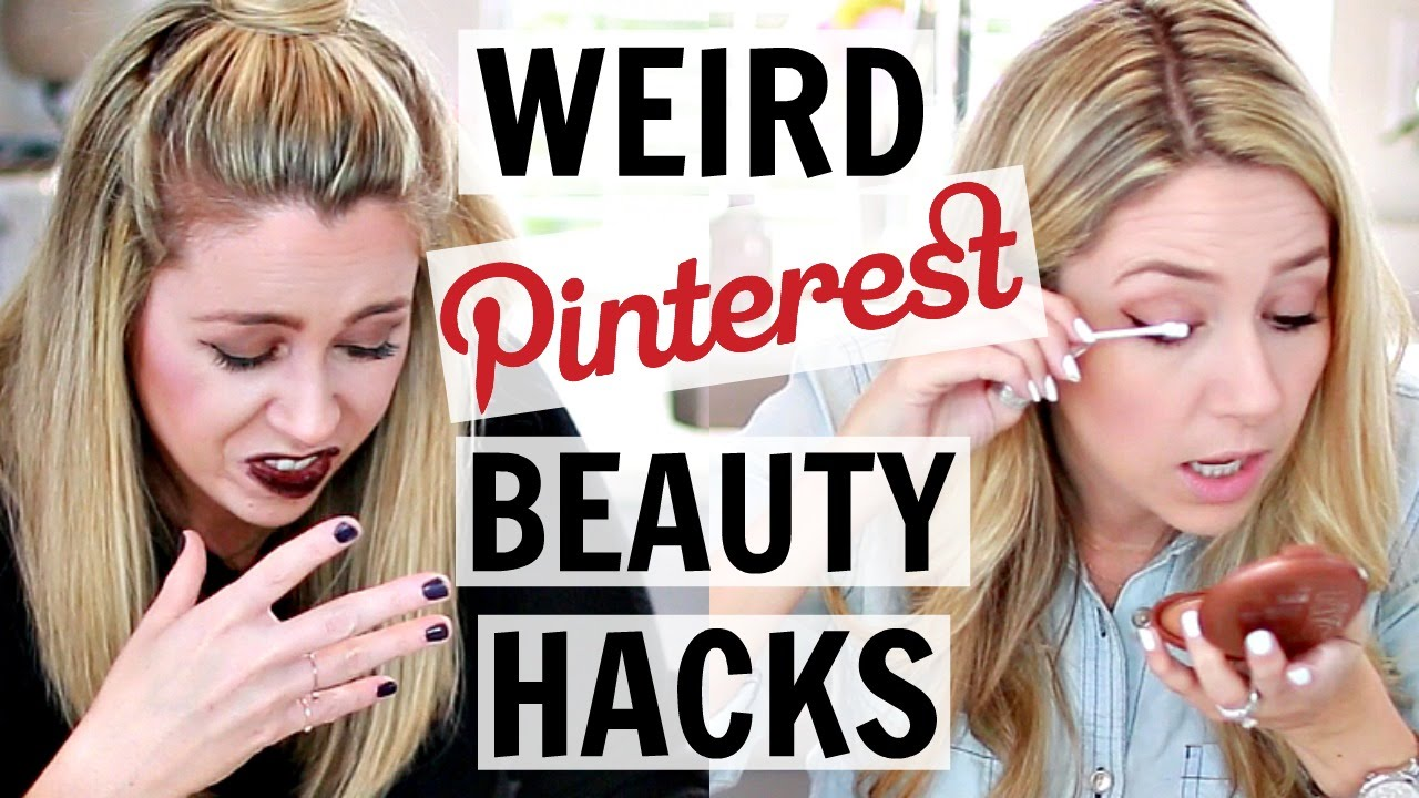 Testing Pinterest Beauty Hacks | Hack or Wack?