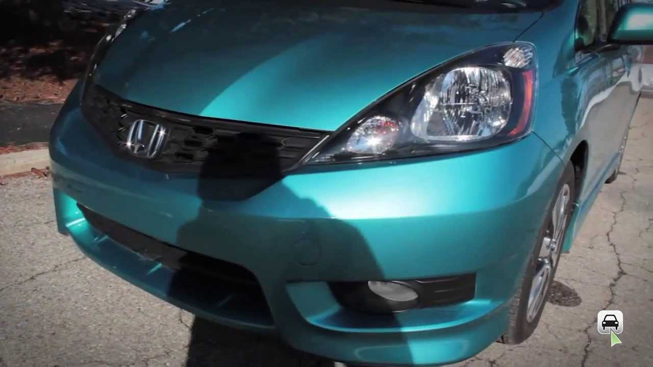 2013 Honda Fit Sport Review   LotPro