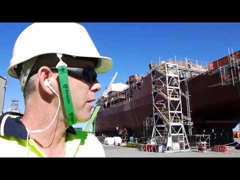 Hutch show HMAS ANZAC
