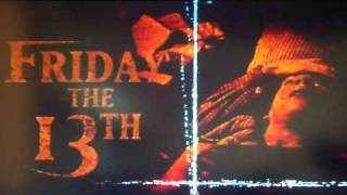 Friday The 13th Ultimate Edition Dvd Collection Menu Music