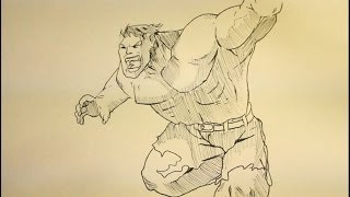 How To Draw Hulk|Step By Step|Easy|Tutorial|Face|Full Body| Incredible Hulk Avengers