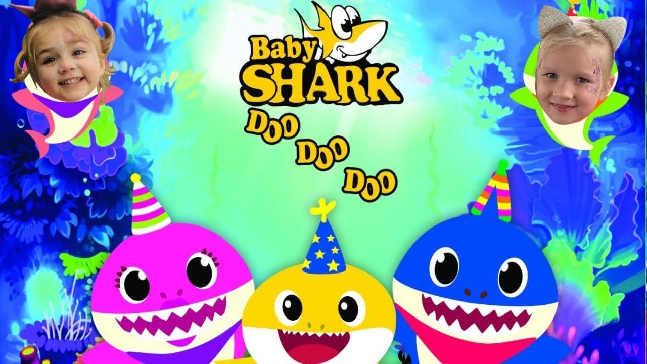 Baby Shark Song - Baby Shark - Doo-Doo Kids Dance + more ...
