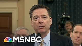 Donald Trump Fires James Comey As Investigations Into Russia Ties Heat Up | Rachel Maddow | MSNBC