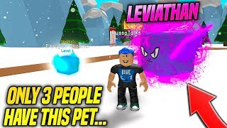 He Traded Me the SECRET PET in BUBBLE GUM SIMULATOR!! *ONLY 3 PEOPLE HAVE IT* (Roblox)