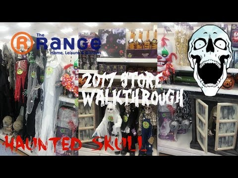 the range halloween 2017 store preview pt1