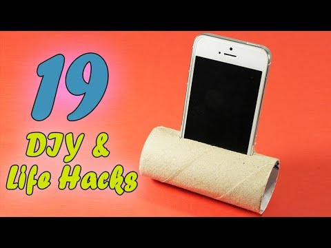 Life Hacks With Toilet Paper Rolls