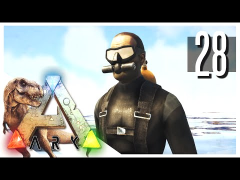 ARK: Survival Evolved - Deep Sea Adventure! S2E28 (ARK Gameplay)