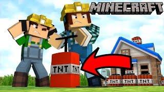 """Những Điều Bạn Cần Biết Về """"TNT"""" Trong Minecraft !!"""