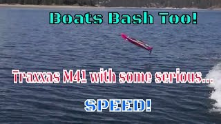Traxxas M41 vs. Bayliner With 5.0 Mercruiser Multiport Injection