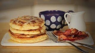 Cinnamon Roll Pancakes | Just Add Sugar