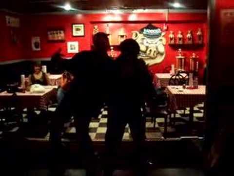 elvis karaoke at bad bobs barbecue