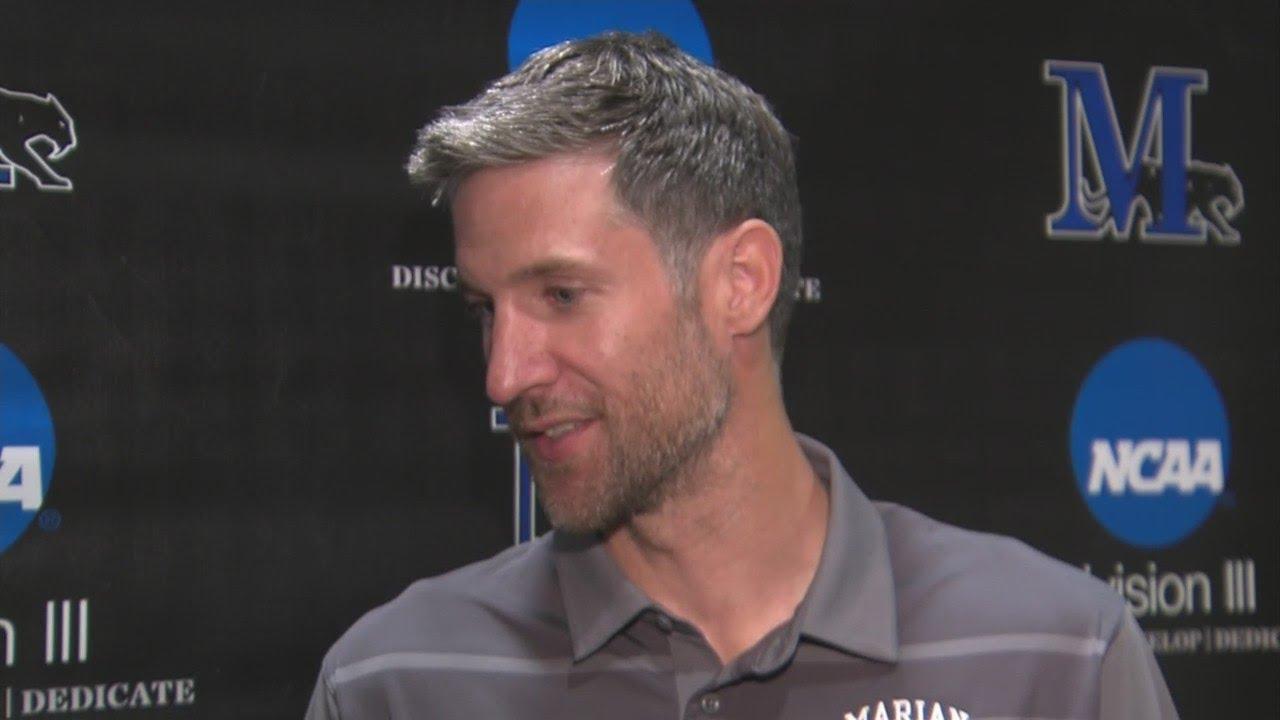 Marian University Introduces Drake Diener As Men S Basketball Coach Youtube