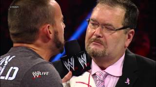 Ryback puts a stop to CM Punk ruining JR Appreciation Night: Raw, Oct. 1, 2012