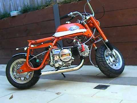 Honda Z50 Mini Trail Youtube