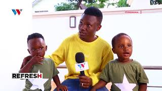 MBOSSO: Nina WATOTO Nchi mbili tofauti