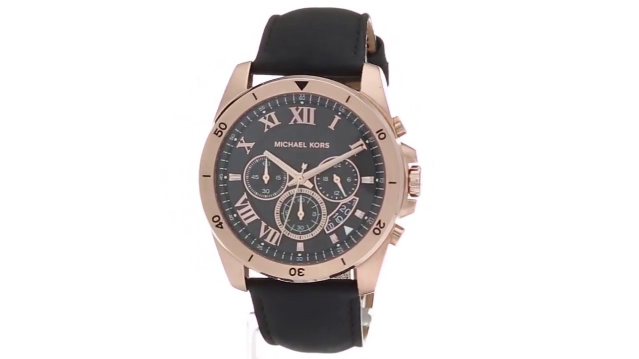fb1c3d88c454 Michael Kors MK8544 - Brecken SKU 8854615 - YouTube