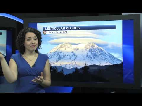 June 2015 - What are Lenticular Clouds?