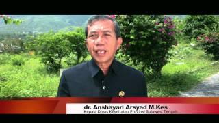 Dinkes Prov Sulawesi Tengah  PSA KTR KADIS