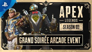 Apex Legends | Grand Soirée Arcade Event Trailer | PS4