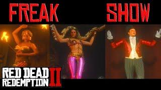 Red Dead Redemption 2 - Freak Show Theatre Miss Marjorie Freak Show Saint Denis