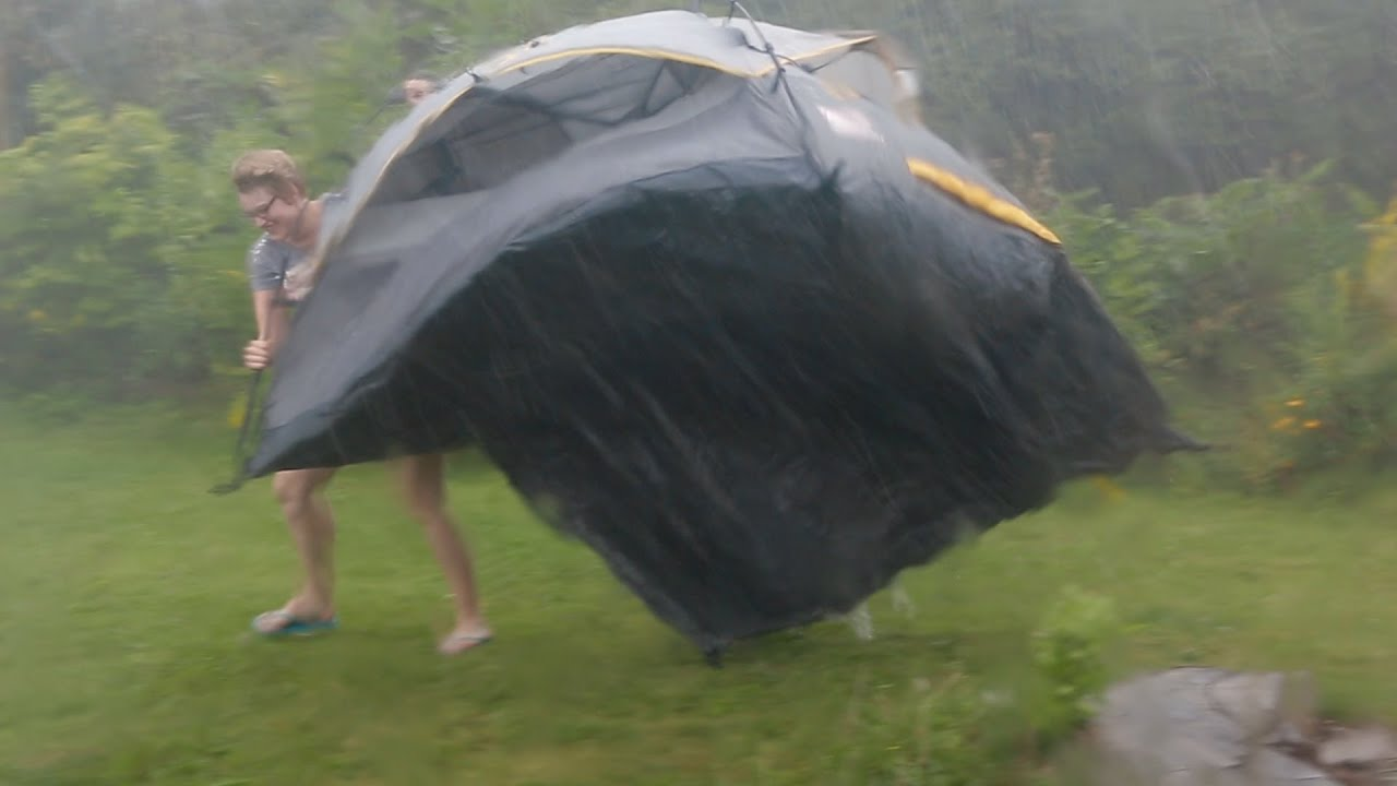 The Vlog Storm (Fly Away Tent, Caught In Rain, and Michael ...