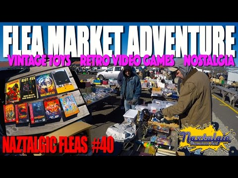 Flea Market Hunting #40 Amazing finds, Interesting People, Retro video games, Vintage Toys