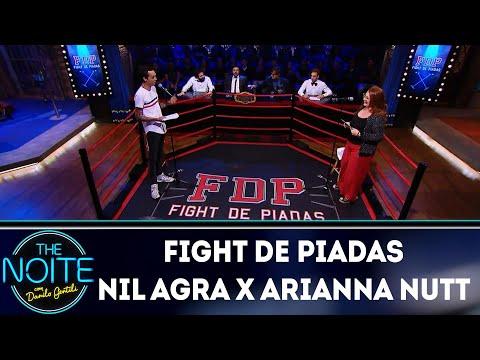 Fight de piadas: Nil Agra x Arianna Nutt - EP 37  The Noite 041218