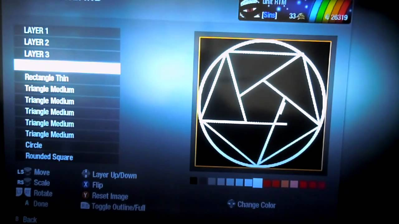 Black Ops Emblem Nationwide Transmutation Circle