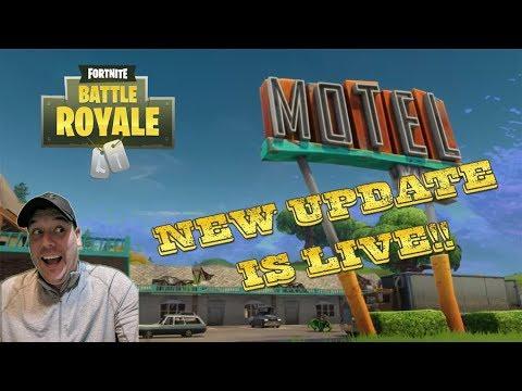 IT's LIVE! Fortnite V 2.2.0 Map Update - LIVESTREAM