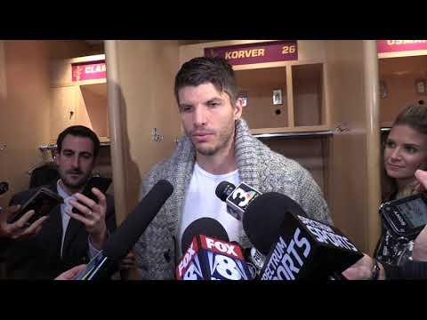 Kyle Korver talks about getting back on the court, and LeBron's amazing game