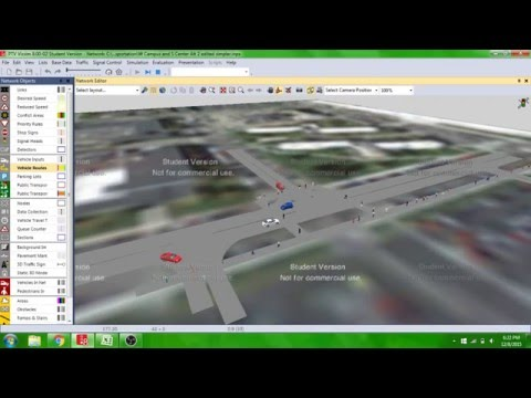 Two Entrance Parking Lot Alternative Simulation