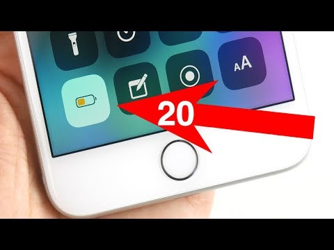 20 Ways To Stop iOS 11 Battery Drain!