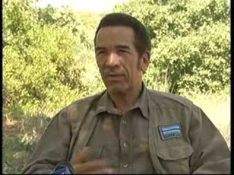 PRESIDENT KHAMA EXTENDED BTV INTERVIEW (PART I)