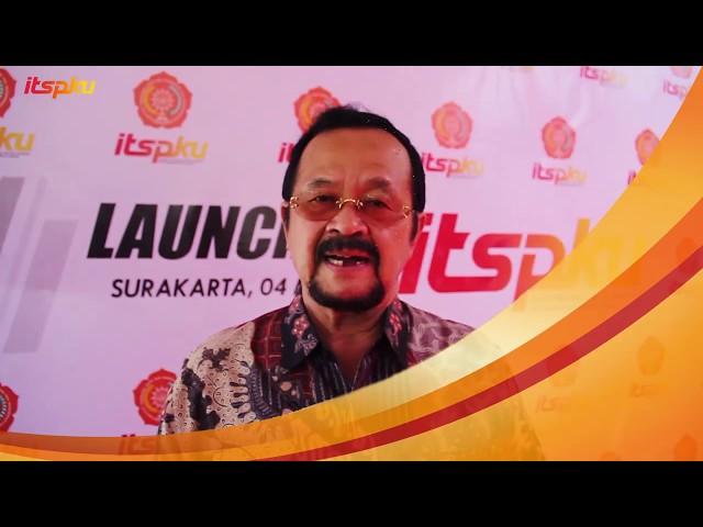 Ucapan selamat dari Wakil Walikota Surakarta atas di resmikannya ITS Muhammadiyah Surakarta