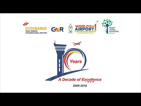 GMR Hyderabad International Airport || 10 Years Celebrations - Live